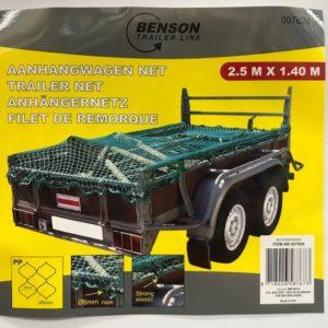 Aanhangwagen net 140x250cm 8718026587673